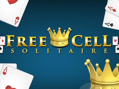 Freecell Solitaire - Patience Kartenspiel Online